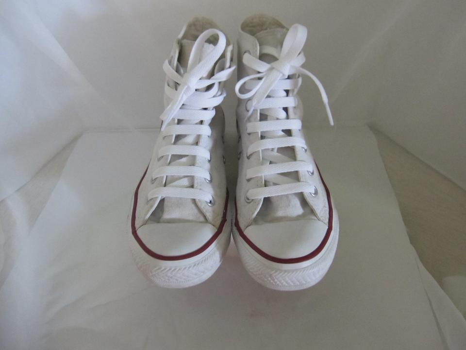 53bd8ed8ac4 Converse Optical White M7650 All Star Chuck Taylor Hitop Sneakers Size US 7  Regular (M, B) - Tradesy