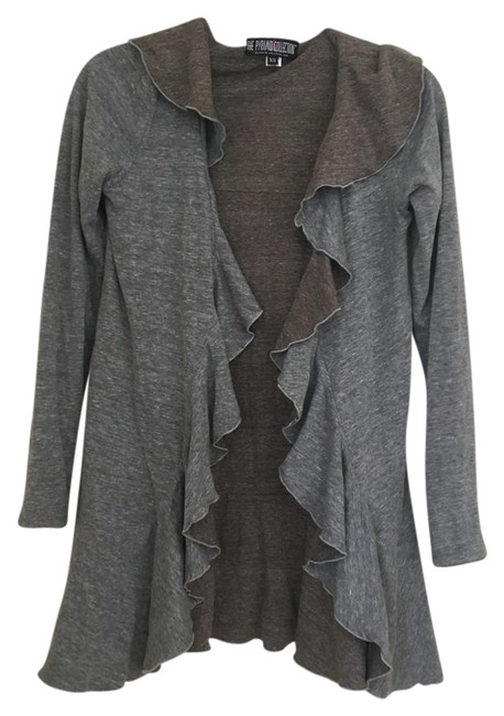 Preload https://img-static.tradesy.com/item/21072742/the-pyramid-collection-heather-grey-heather-brown-reversible-cardigan-size-0-xs-0-1-650-650.jpg
