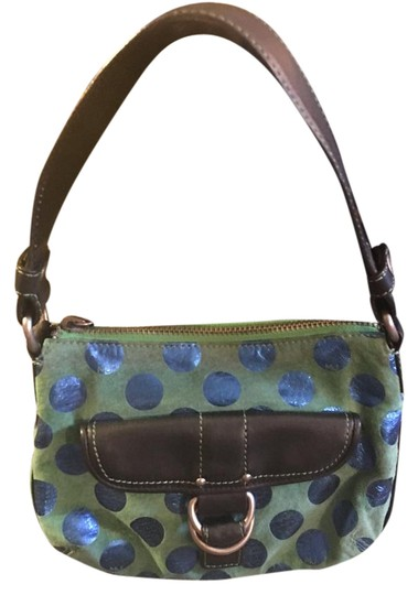 Preload https://img-static.tradesy.com/item/21072763/marc-jacobs-blue-poka-dot-green-suede-leather-shoulder-bag-0-1-540-540.jpg