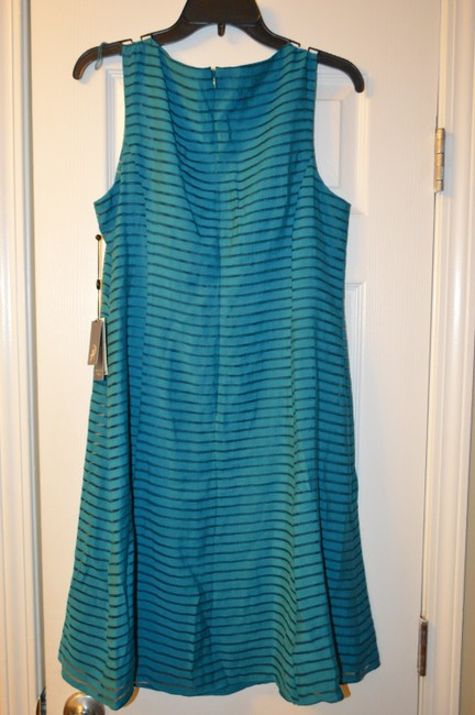 Teal Maxi Dress by Adrianna Papell Image 2