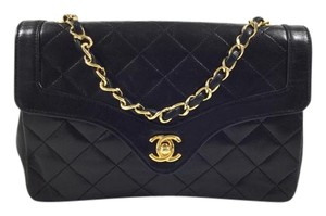 Chanel Single Flap Leather Shoulder Bag