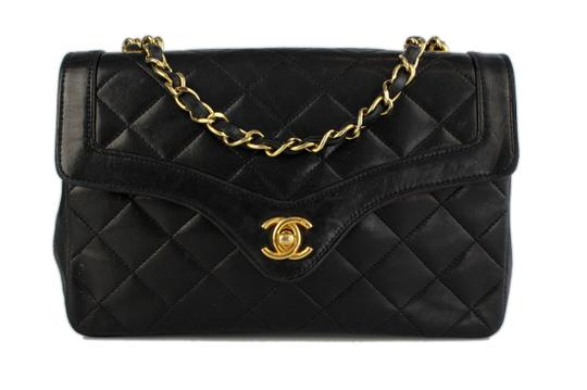 Chanel Single Flap Leather Strawberry Fields Shoulder Bag