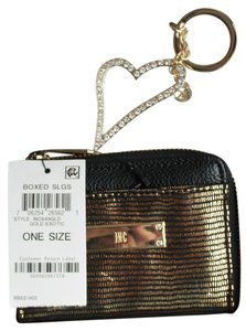 INC International Concepts Wristlet in Black/Exotic Gold