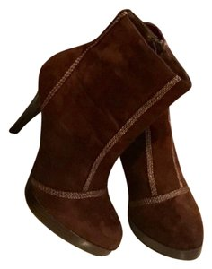 Qupid Chocolate Brown Boots