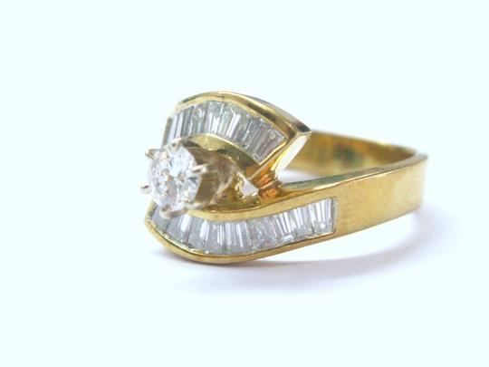 Other 18Kt Multi Shape Diamond Engagement ByPass Jewelry Ring 1.46CT Image 4