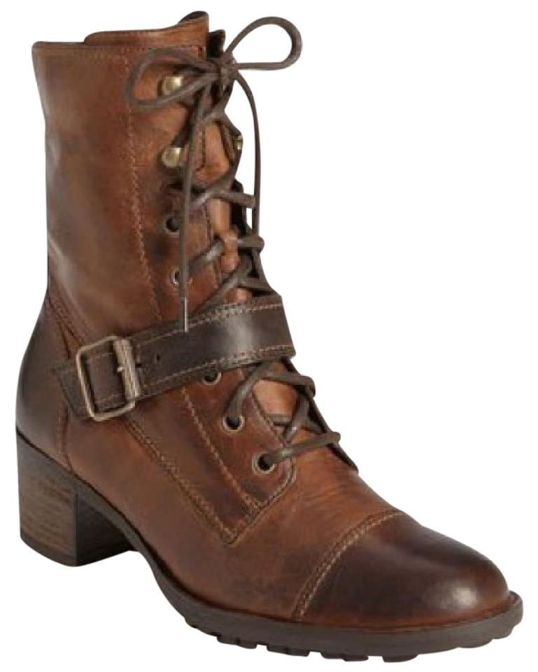 Women's Paul Different Green Brown Military Boots/Booties Different Paul styles and styles c51034