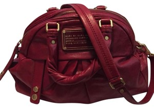 Marc by Marc Jacobs Satchel in Red Brick