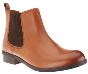 Clarks Leather Chelsea Comfort brown Boots