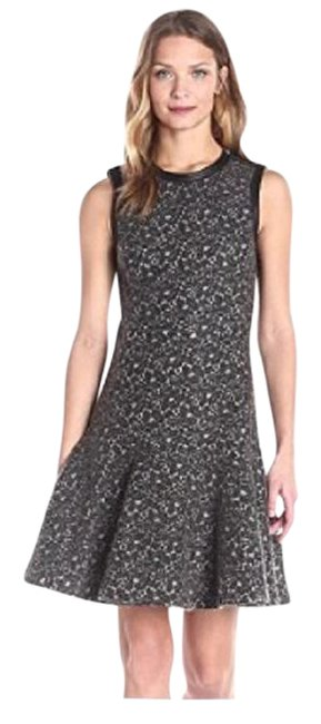 Preload https://img-static.tradesy.com/item/21073288/rebecca-taylor-grey-lace-lambskin-leather-mid-length-workoffice-dress-size-2-xs-0-3-650-650.jpg
