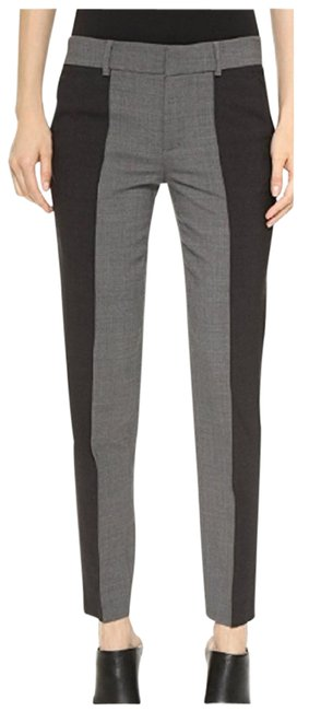 Vince Black/Grey Women's Dress Pants Size 10 (M, 31) Vince Black/Grey Women's Dress Pants Size 10 (M, 31) Image 1