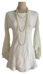 Mystic short dress White Lace Lace Bohemian Hippie Chic Vintage on Tradesy