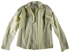 Jil Sander Silk Windbreaker Jacket Jacket