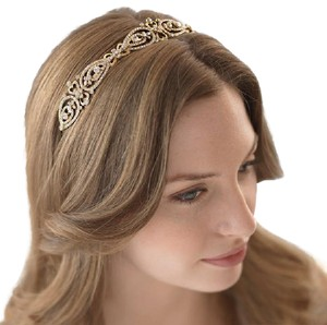 Gold Vintage Bridal Headband