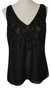 M.S.S.P. Top Beaded Black