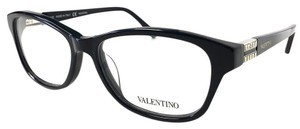 Valentino New Valentino Eyeglasses Black with Case