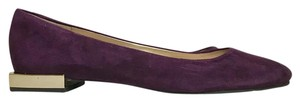 Tahari Purple Flats
