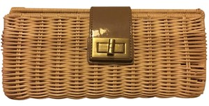 J.Crew Summer Vintage Wood Clutch