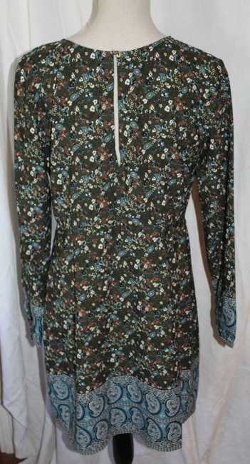 Abercrombie & Fitch short dress Olive Green Floral on Tradesy Image 3