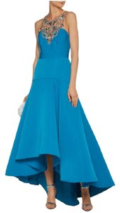 Marchesa Notte Asymmetrical Hi-low Embellished Stunning Store Display Dress