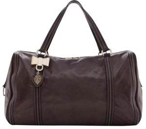 Gucci Satchel in Rich coffee brown