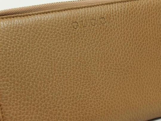 Gucci GUCCI 321117 Unisex Leather GG Guccissima Zip Around Wallet Clutch Image 3