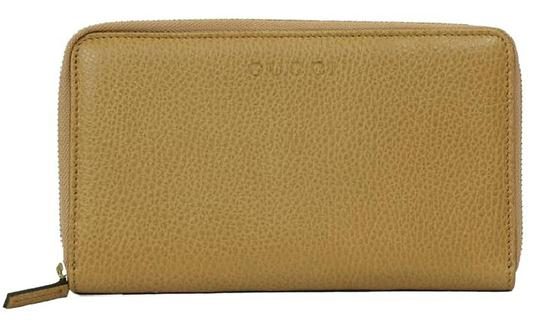 Gucci GUCCI 321117 Unisex Leather GG Guccissima Zip Around Wallet Clutch Image 7