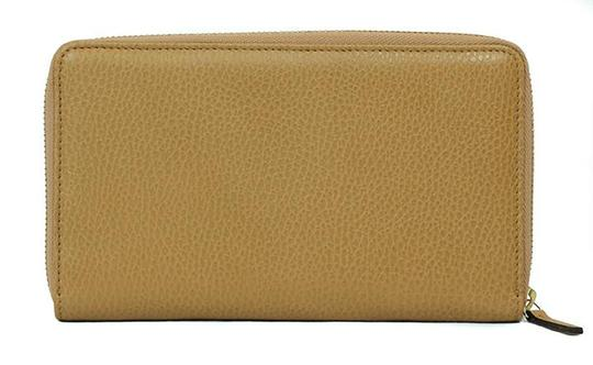 Gucci GUCCI 321117 Unisex Leather GG Guccissima Zip Around Wallet Clutch Image 8