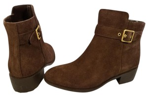 Cole Haan Waterproof Grand Os Suede brown Boots