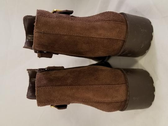 Cole Haan Waterproof Grand Os Suede brown Boots Image 4