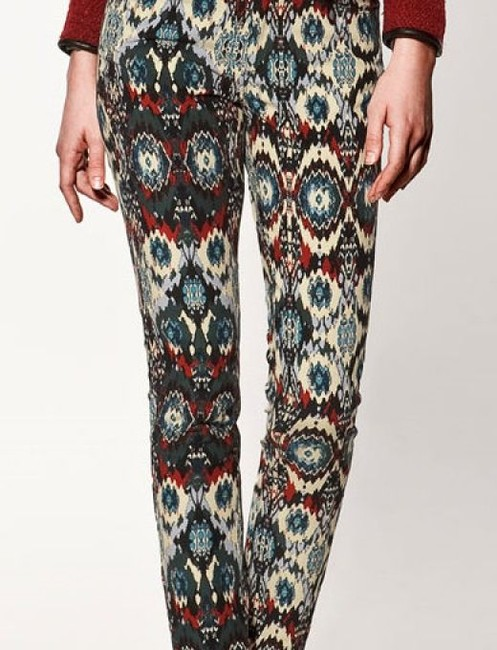 Zara Isabel Marant Dries Van Noten Tory Burch Skinny Jeans-Light Wash Image 1