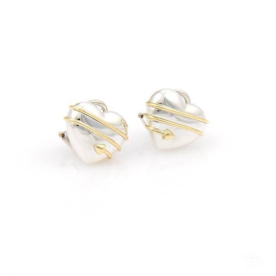 Preload https://img-static.tradesy.com/item/21074183/tiffany-and-co-silver-yellow-gold-18k-cupid-s-arrow-heart-post-clip-earrings-0-0-540-540.jpg
