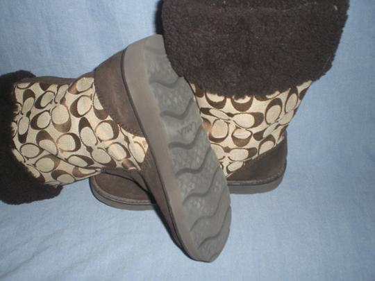 Coach Brown Boots Image 10