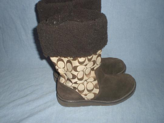 Coach Brown Boots Image 6