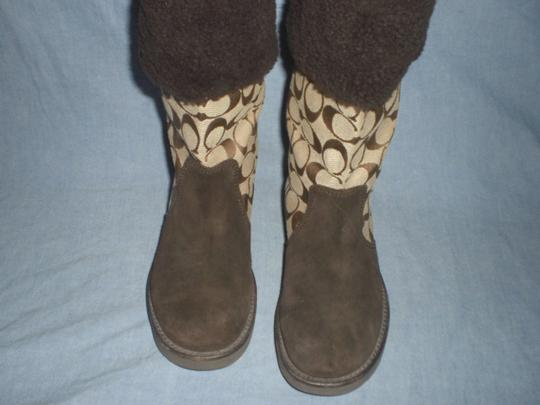 Coach Brown Boots Image 9