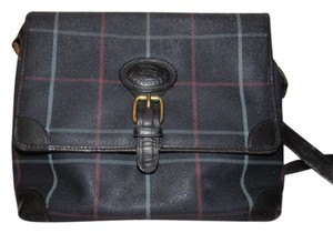 Burberry Early Excellent Vintage Perfect For Everyday Multiple Compartment Rare Cross Body Bag
