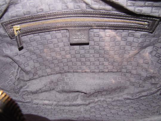 Gucci Excellent Vintage Xl Size Style High-end Bohemian Two-way Style Great For Everyday Hobo Bag Image 9