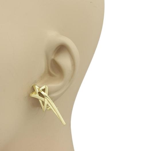Tiffany & Co. Paloma Picasso 18k Yellow Gold Shooting Star Earrings Image 1