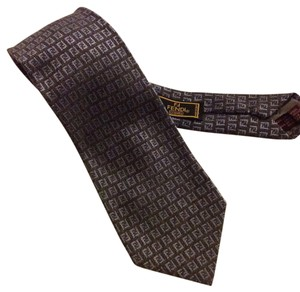 Fendi FENDI Cravatta made in Italy men's tie