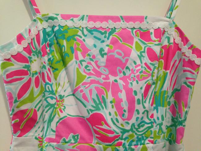 Lilly Pulitzer short dress Pink Green White on Tradesy Image 1