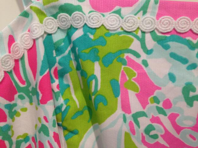 Lilly Pulitzer short dress Pink Green White on Tradesy Image 4