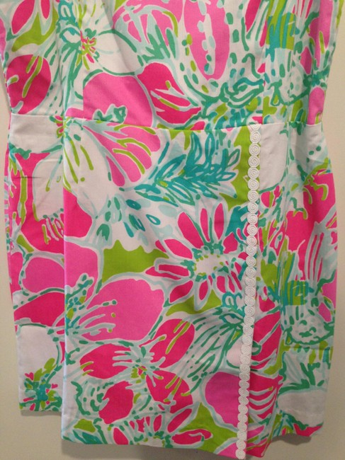 Lilly Pulitzer short dress Pink Green White on Tradesy Image 5