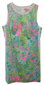 Lilly Pulitzer short dress Pink Green Blue White on Tradesy