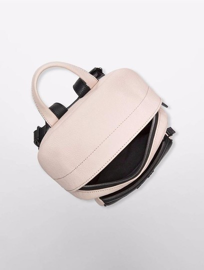 foto de Calvin Klein Hailey City Mica with Black Faux Leather Backpack ...
