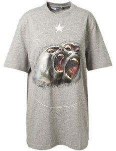Givenchy T Shirt Grey Monkey Brothers