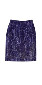 St. John Deep Multi Shimmer Skirt