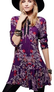Free People short dress plumberry on Tradesy