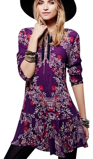 Preload https://img-static.tradesy.com/item/21074899/free-people-plumberry-smooth-talker-short-casual-dress-size-8-m-0-1-650-650.jpg