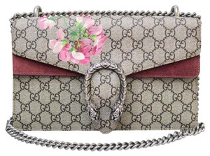 Gucci Canvas Dionysus Blooms Shoulder Bag