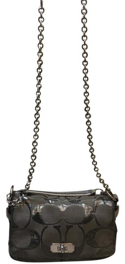 Preload https://img-static.tradesy.com/item/21075012/coach-17872-chain-strap-shoulder-crossbody-gray-leather-trim-and-canvas-shoulder-bag-0-2-540-540.jpg