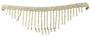 Other Gold Rhinestone Bib Choker